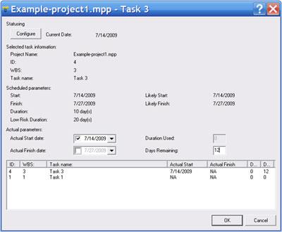 Zarządzanie projektem metodą łańcucha krytycznego z wykorzystaniem oprogramowania CCPM+  - JS Project