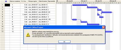 Program CCPM+ Zagadnienia praktyczne  - JS Project